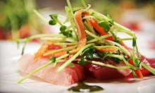 Dinner for Two or Four or $15 for $30 Worth of Asian Cuisine at OM Modern Asian Kitchen and Sushi Bar