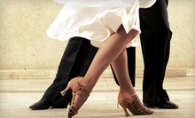 5 or 10 Drop-In Ballroom or Latin Dance Classes at Dance Like a Star Studio (Up to 55% Off)