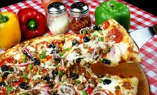 $10 for $20 Worth of Pizza, Wings, and Salad for Carry-Out at Castrillo's Pizza