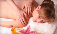 60-Minute Individual or Couples Massage with Euro Body Scrub at Enigma Spa (Up to 55% Off)