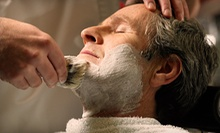 One or Three Men's Haircut Packages with Option to Add Hot Towel Shav at Razor's Edge Barber Shop (Up to 53% Off)