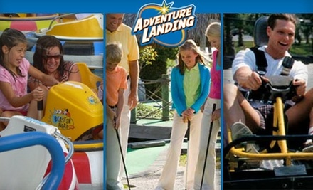 Adventure Landing Dallas Deal Of The Day Groupon Dallas
