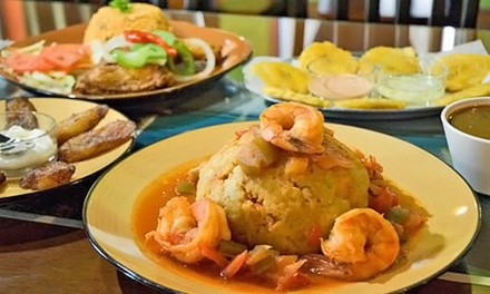 Authentic Puerto Rican Take-Out From El New Yorican Catering Central (Up to 50% Off). Two Options Available.