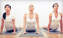 One or Two Months of Unlimited Yoga Classes at Yoga Unlimited (Up to 62% Off)