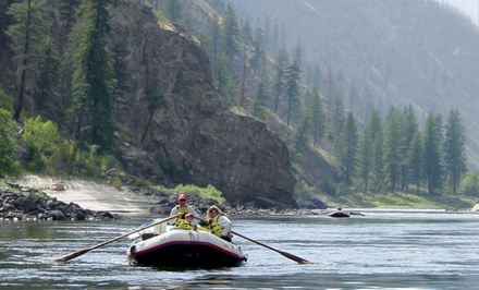 3- or 5-Day Camping and Rafting Adventure for One on Idaho's Salmon River from Yellow Jacket River Guides