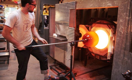 Glass-Blowing Workshops at Seattle Glassblowing Studio & Gallery (Up to 60% Off). Four Options Available.