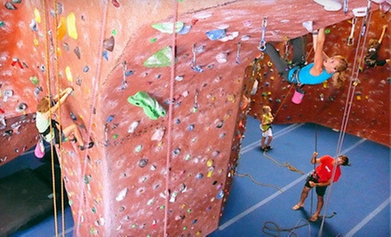 Two-Month Rock-Climbing Package, Two Advanced Climbing Classes, or a Kids Climbing Party at ClimbX (Up to 83% Off)