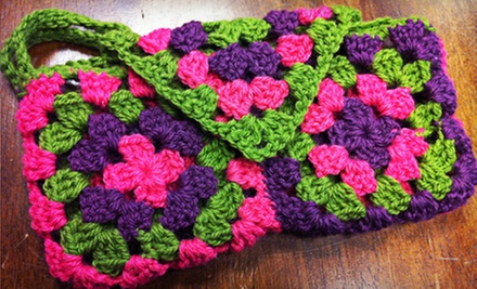 Crochet-Clutch Class for One or Two at The Bead Place (Up to 54% Off)