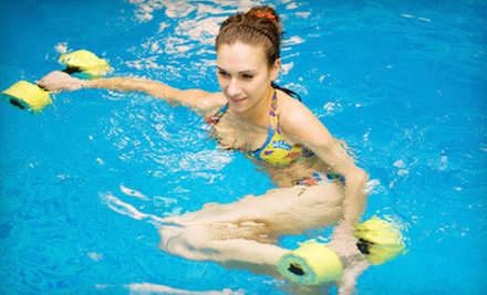 10 Aquatic Fitness Classes for Adults or 10 Lap Swim Sessions at Burlingame Aquatic Club (Up to 55% Off)