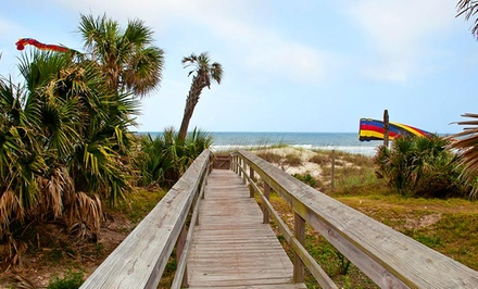 groupon daily deal - 1-Night Stay for Two at Seaside Amelia Inn on Amelia Island, FL