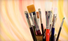 $25 for $50 Worth of Designer Paint and Supplies at Infinity Paint