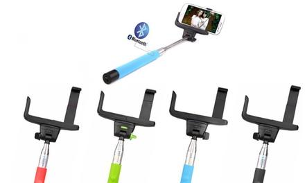 Braço extensível para selfies com Bluetooth por 14,90€ ou dois por 19,90€