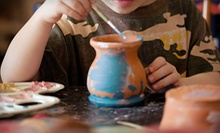 Paint-Your-Own Pottery Session for Two or Four at Alpaca Art (Up to Half Off)