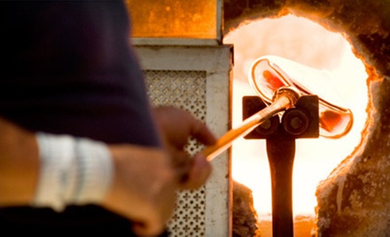 Introductory Glass-Blowing Class for One or Two at Daggett Glass Studio (Up to 54% Off)