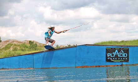 $25 for Four Hours of Cable Riding at Placid Wake Park ($50 Value)