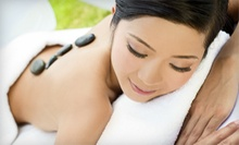 One or Three Hot-Stone Massages or One or Two Facial-and-Massage Packages at Chandra Retreat (Up to 67% Off)