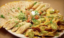 Mexican Meal with Appetizers and Entrees for Two or Four at Cabreras Mexican Cuisine (Up to 56% Off)