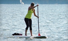 30-Minute Standup Paddleboarding Lesson and 1.5-Hour Rental for One or Two at Adventure Paddle (Up to 64% Off)