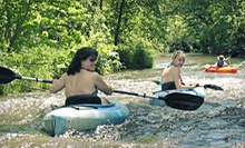 $89 for All-Day Kayaking for Two with Drinks from Kinni Creek Lodge and Outfitters ($180 Value)