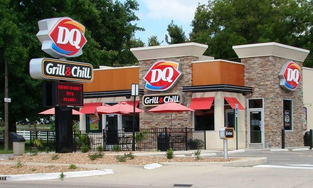 Frozen Treats and American Fare at DQ Grill & Chill (55% Off)