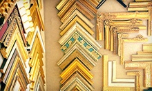Custom Art and Framing at Westwood Gallery (Up to 68% Off). Two Options Available.