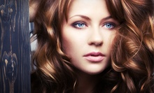 Haircut and Style with Optional Color or Partial or Full Highlights at Gene's Hair Solutions (53% Off)