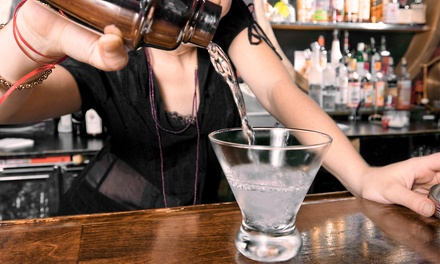 $49 for a Bartending Course with On-the-Job Training at The West End: Bartending Classes ($250 Value)