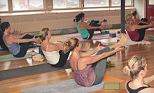 5 or 10 Power-Vinyasa Yoga Classes at bCalm Power Yoga (Up to 67% Off)