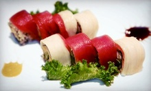 Sushi and Pan-Asian Cuisine During Dinner or Lunch at Sun Cafe (Half Off)