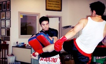 10 Muay Thai Classes or One Month of Unlimited Muay Thai Classes at East Coast Academy of Martial Arts (Up to 84% Off)