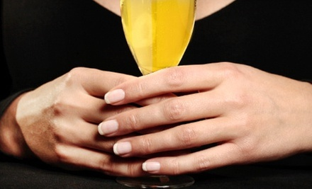 One or Three Non-UV Light SNS Gel Manicures at Oasis Pamper Bar (70% Off)