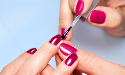 One or Two Basic or Spa Mani-Pedis at Paradise Nail Lounge by Renia (Up to 42% Off)