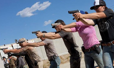 Introductory Firearms Courses for One or Two at Active Shooter Defense School (Up to 49% Off)