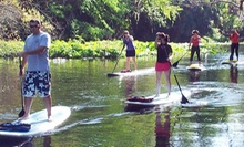 90-Minute Standup-Paddleboard Lesson or Eco Tour for One, Two, or Four at Central Florida Paddleboarding (Up to 54% Off)