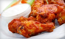 Game-Day Special for Four or Six or $10 for $20 Worth of Wings and Soul Food at Hood Wings