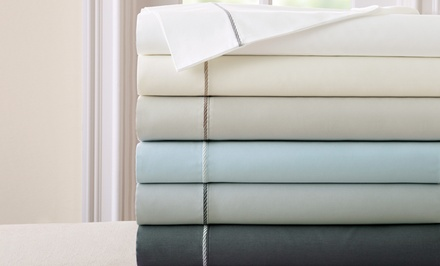 400-Thread-Count 100% Egyptian-Cotton Sheet Sets with Rope Hem