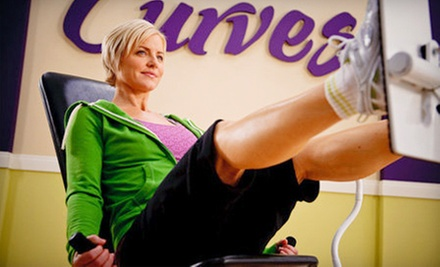 Two-Month Gym Membership with Optional Computerized Workout Personalization at Curves (Up to 74% Off)