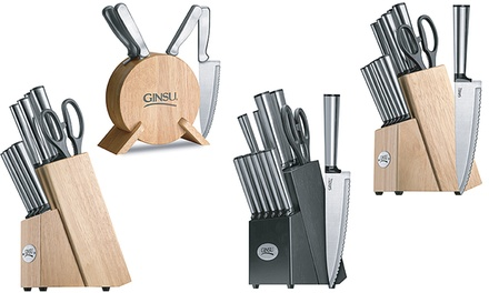 Ginsu Stainless Steel Cutlery Sets from $27.99 to $42.99