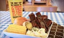 Barbecue Family Pack Meal with Sides and Rolls or $7 for $15 Worth of Barbecue at Dickey's Barbecue Pit
