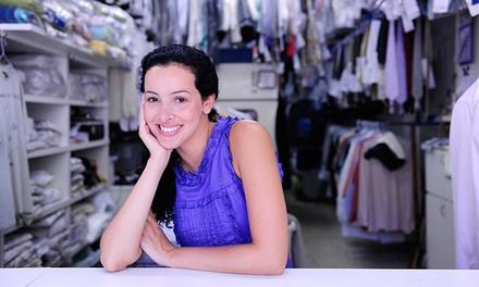 A Todo o Vapor: serviço de engomadoria de 50, 100 ou 150 peças de roupa desde 12,90€