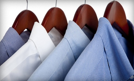 $25 for $50 Worth of Dry Cleaning at Klinit Cleaners