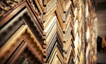 $40 for $100 Worth of Custom Framing Services at Underglass Framing