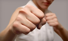 $45 for an Adult Personal Defense Tactics Class at Ballistic Fighting Methods ($109 Value)