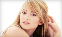Haircut and Style with Optional Partial or Full Highlights at Jus Salon (Up to 61% Off)