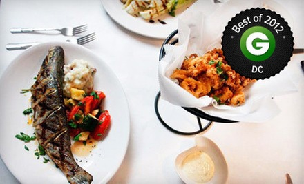 Three-Course Prix-Fixe Seafood Dinner for Two or Four at Chef Tonys Restaurant (Up to 55% Off)