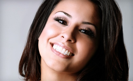Take-Home Whitening Trays or BleachBright In-Office Teeth-Whitening Treatment at Dent-Al Smiles (Up to 78% Off)