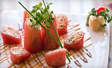 $15 for $30 Worth of Sushi and Japanese Fusion Cuisine at Raku