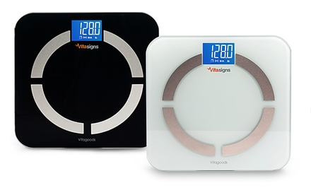 Bluetooth Smart Digital Scale and Body Analyzer with App Sync