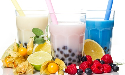$12 for Bubble Tea and Donut Package at Orange Peel ($19.75 Value)