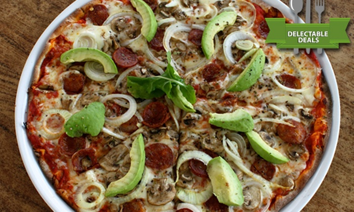 River Cafe - Sandton: Two, Four or Six Large Pizzas with Any Three Toppings at River Café